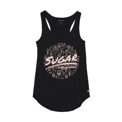 Gabe Kubanda Sugar Black Women's Tank Top