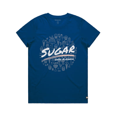 Gabe Kubanda Sugar Bright Royal Women's Tee Shirt