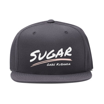 Gabe Kubanda - Sugar Embroidered Snapback Hat - Band Merch and On-Demand Designer Shirts