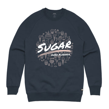 Gabe Kubanda - Sugar Unisex Heavyweight Pullover Sweatshirt - Band Merch and On-Demand Designer Shirts
