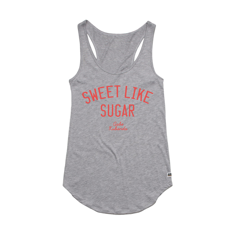 Gabe Kubanda Sweet Heather Grey Women's Tank Top