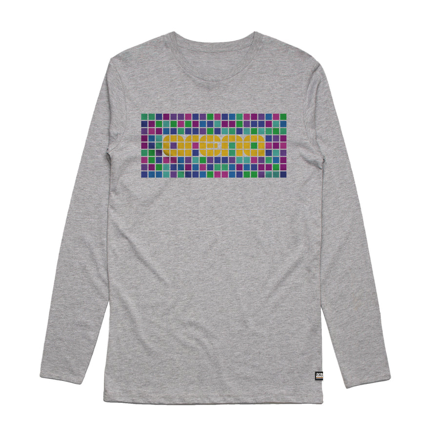Pixel - Men's Long Sleeve Tee Shirt - Band Merch and On-Demand Designer Shirts