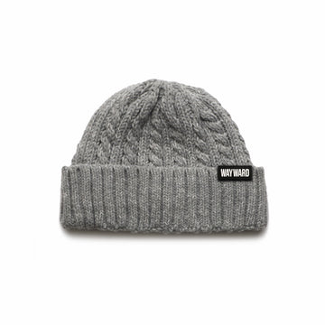 Wayward Kid - Cable Knit Beanie - Band Merch and On-Demand Designer Shirts