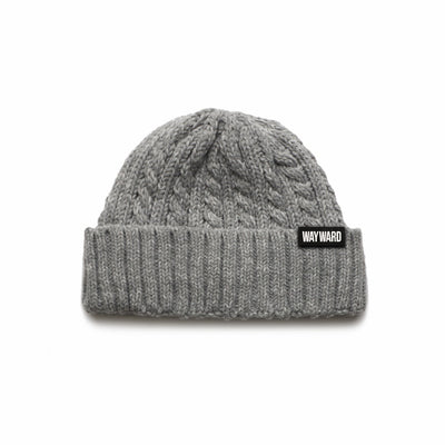 Heather Grey Wayward Kid Women's Beanie