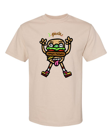 J. Pierce - Happy Burger: Unisex Tee Shirt | Arena