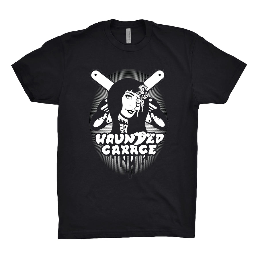 Haunted Garage - Chainsaw Unisex Tee Shirt - Band Merch and On-Demand Designer Shirts