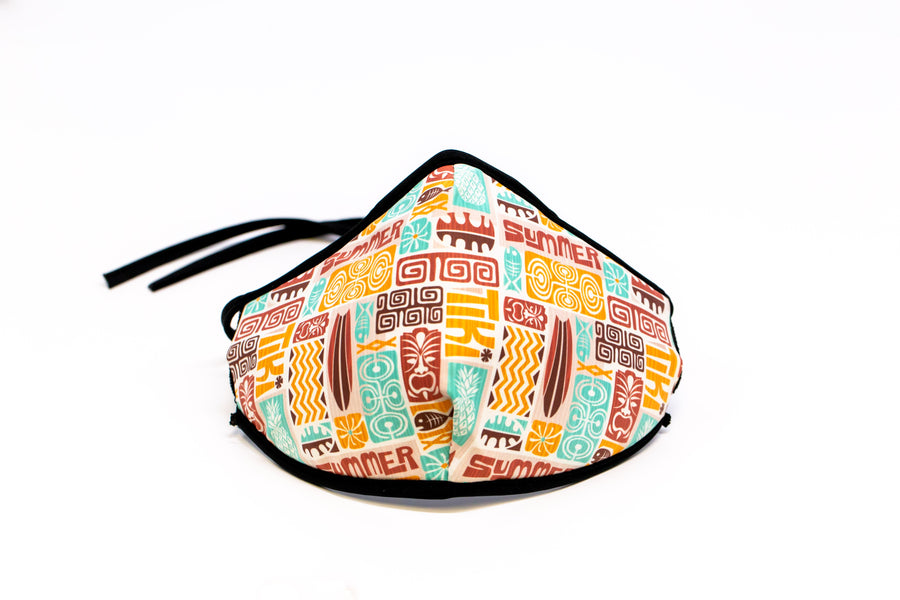 Hawaiian Summer-Reusable Face Mask, Face Cover, Festival Cover | Arena