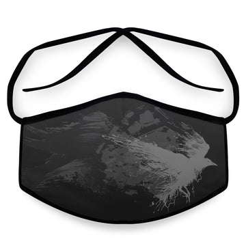 Poe- Arena Tour Mask (Includes 1 PM2.5 Carbon Filter) Reversible Face Mask