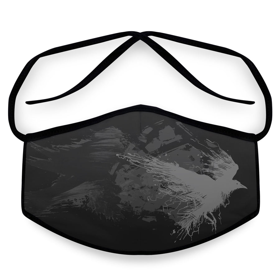 Poe - Unisex Reusable Cloth Face Mask, Face Cover, Festival Cover | Arena - Band Merch and On-Demand Designer Shirts