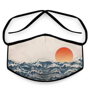 Newport- Arena Tour Mask (Includes 1 PM2.5 Carbon Filter) Reversible Face Mask