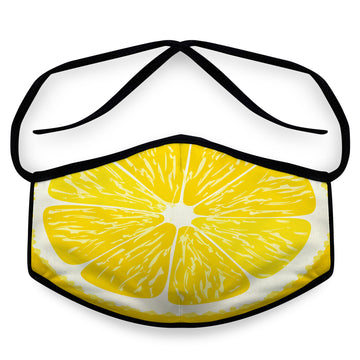 Lemon- Arena Tour Mask (Includes 1 PM2.5 Carbon Filter) Reversible Face Mask