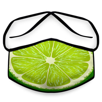 Lime - Unisex Reusable Cloth Face Mask, Face Cover, Festival Cover | Arena - Band Merch and On-Demand Designer Shirts