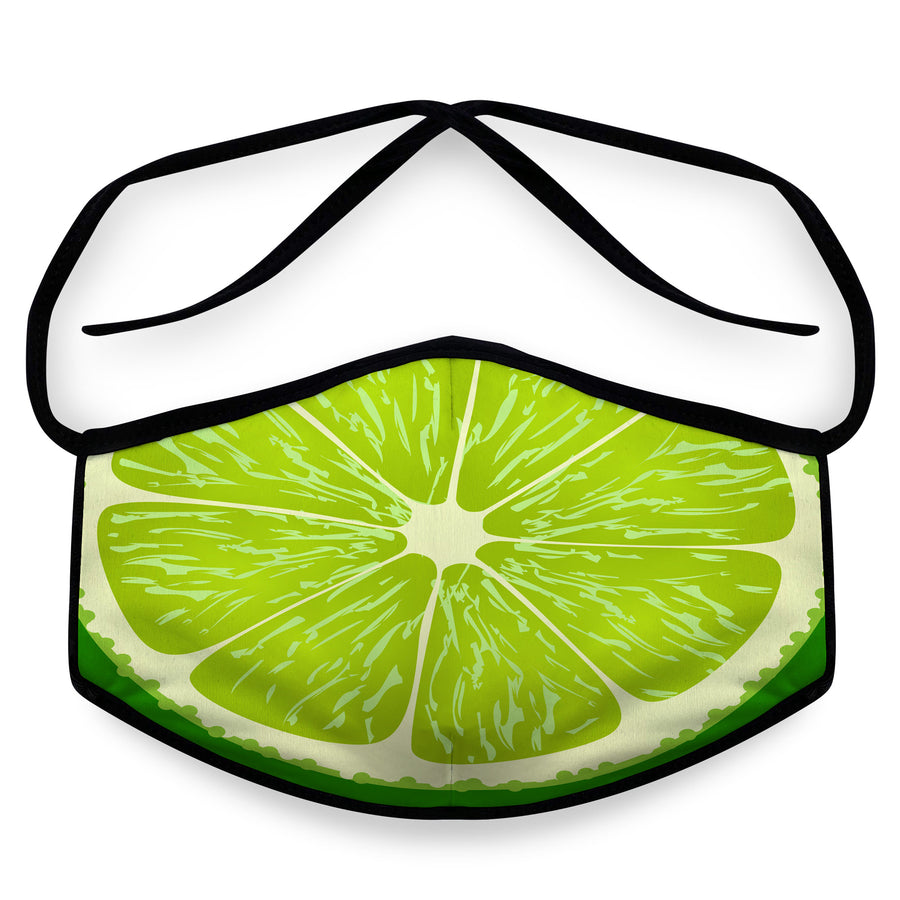 Lime- Arena Tour Mask (Includes 1 PM2.5 Carbon Filter) Reversible Face Mask