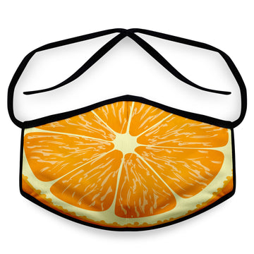 Orange - Reusable Cloth Face Mask, Face Cover, Festival Cover | Arena - Band Merch and On-Demand Designer Shirts