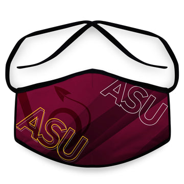 Forks Up- Arena Tour Mask (Includes 1 PM2.5 Carbon Filter) Reversible Face Mask
