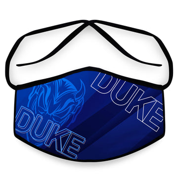 Blue Devil - Arena Tour Mask (Includes 1 PM2.5 Carbon Filter) Reversible Face Mask