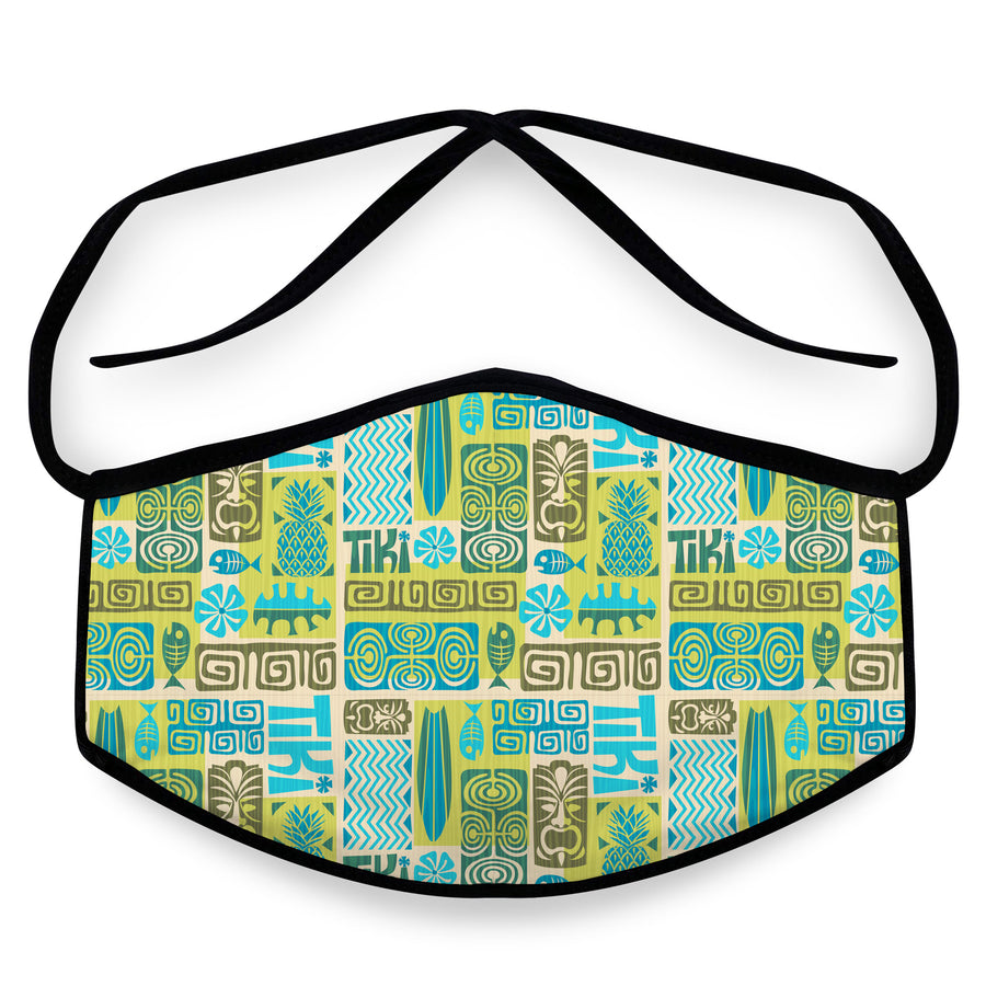 Mahalo - Unisex Reusable Cloth Face Mask, Face Cover, Festival Cover | Arena - Band Merch and On-Demand Designer Shirts