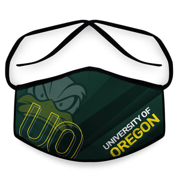 Go Ducks- Arena Tour Mask (Includes 1 PM2.5 Carbon Filter) Reversible Face Mask
