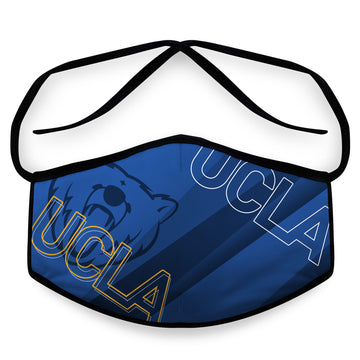 Bruins- Arena Tour Mask (Includes 1 PM2.5 Carbon Filter) Reversible Face Mask