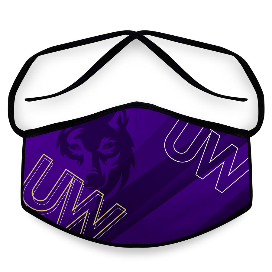 Washington - Reusable Cloth Face Mask, Face Cover, Festival Cover | Arena - Band Merch and On-Demand Designer Shirts