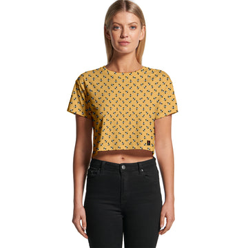 Hive - Women's Cropped Tee | Arena