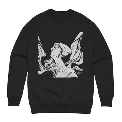 Tina St. Claire - Icarus Unisex Heavyweight Pullover Sweatshirt