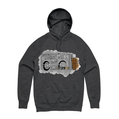 The Justice System - Boom Box Unisex Heavyweight Pullover Hoodie