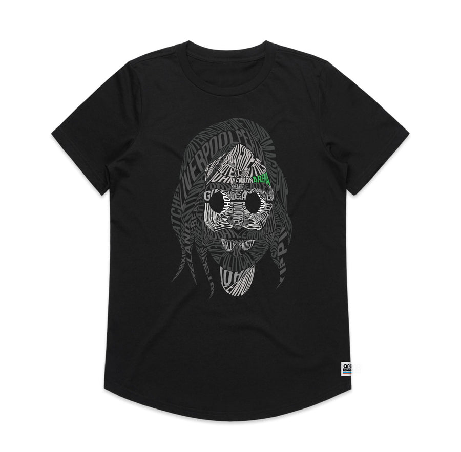John Lennon - Women's Drop Tee Shirt - Band Merch and On-Demand Designer Shirts