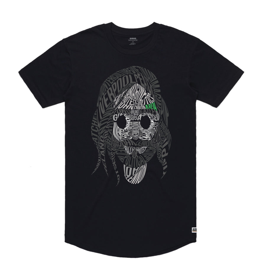 John Lennon - Men's Curved Hem Tee Shirt