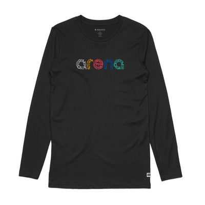 Letters - Men's Long Sleeve Tee Shirt
