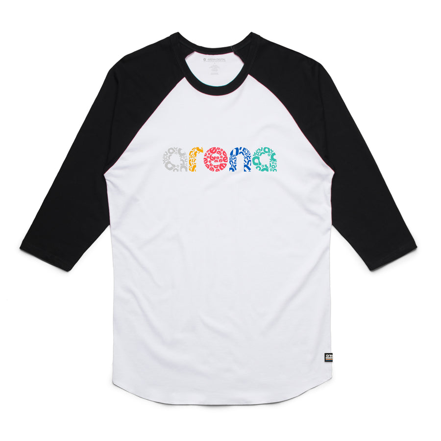 Letters - Unisex Raglan Tee Shirt - Band Merch and On-Demand Designer Shirts