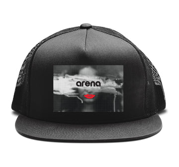 Lips - Trucker Snapback Hat