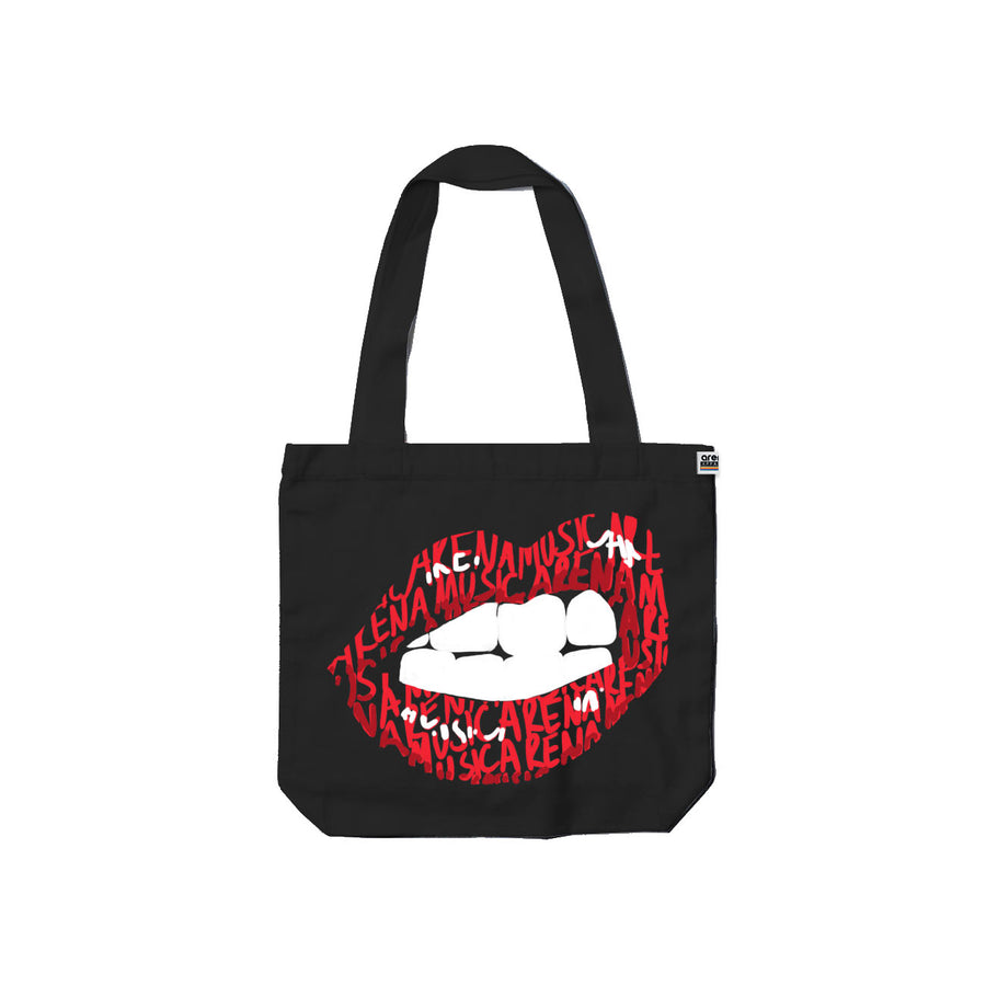Show Me Your Teeth - Tote Bag - Band Merch and On-Demand Designer Shirts