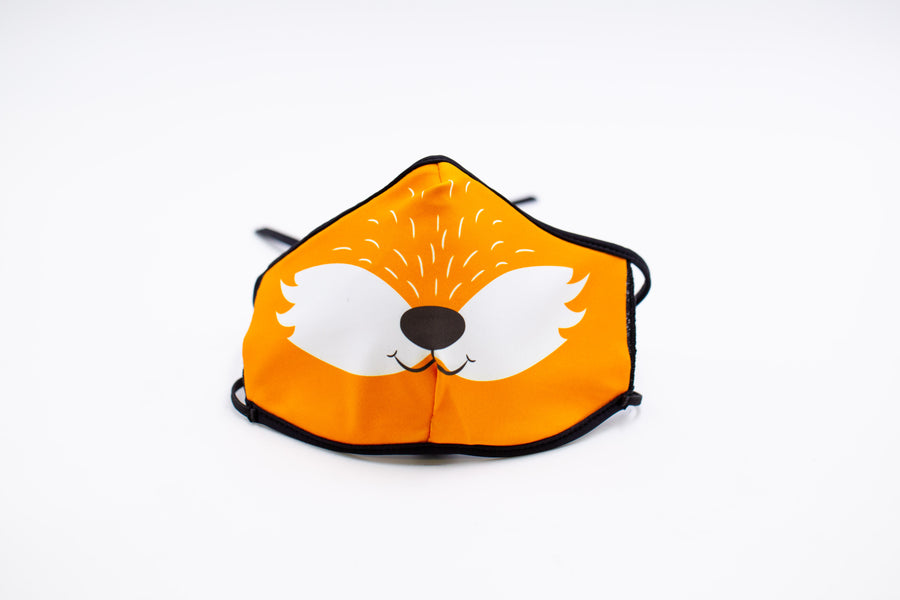 Fox- Arena Tour Mask (Includes 1 PM2.5 Carbon Filter) Reversible Face Mask