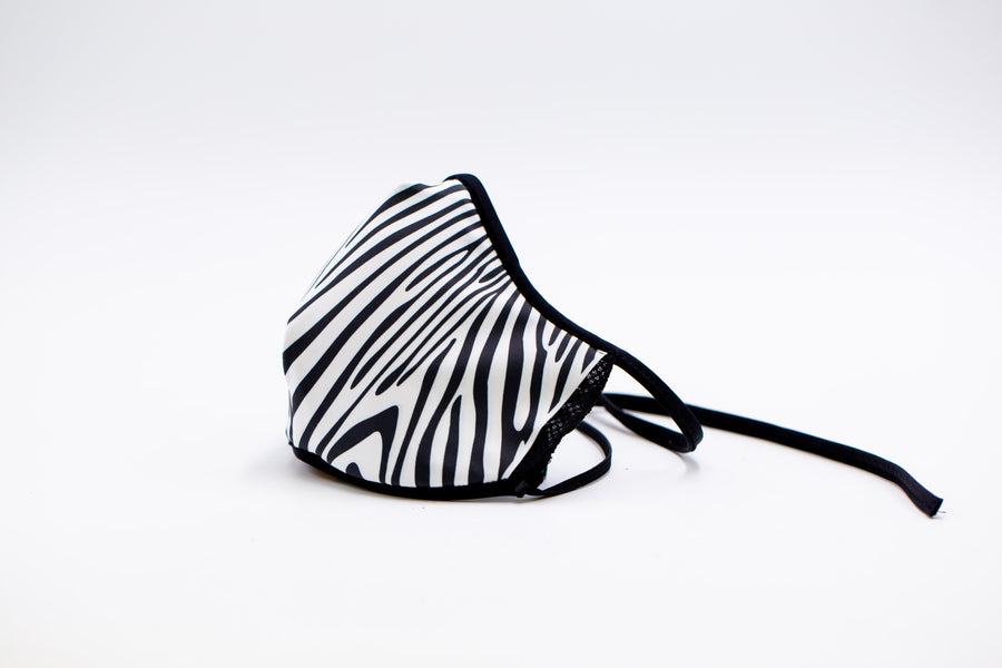 Zebra- Unisex Reusable Cloth Face Mask, Face Cover, Festival Cover | Arena - Band Merch and On-Demand Designer Shirts