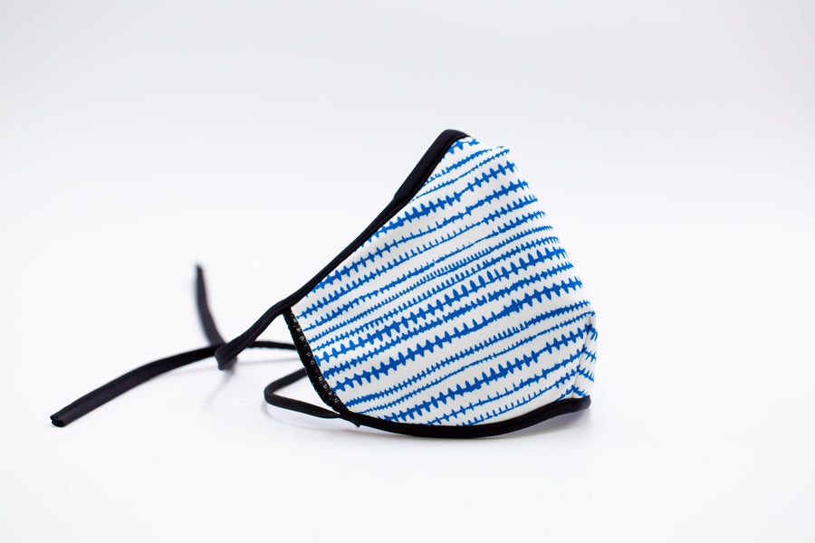 Blue Stitch- Reusable Face Mask, Face Cover, Festival Cover | Arena