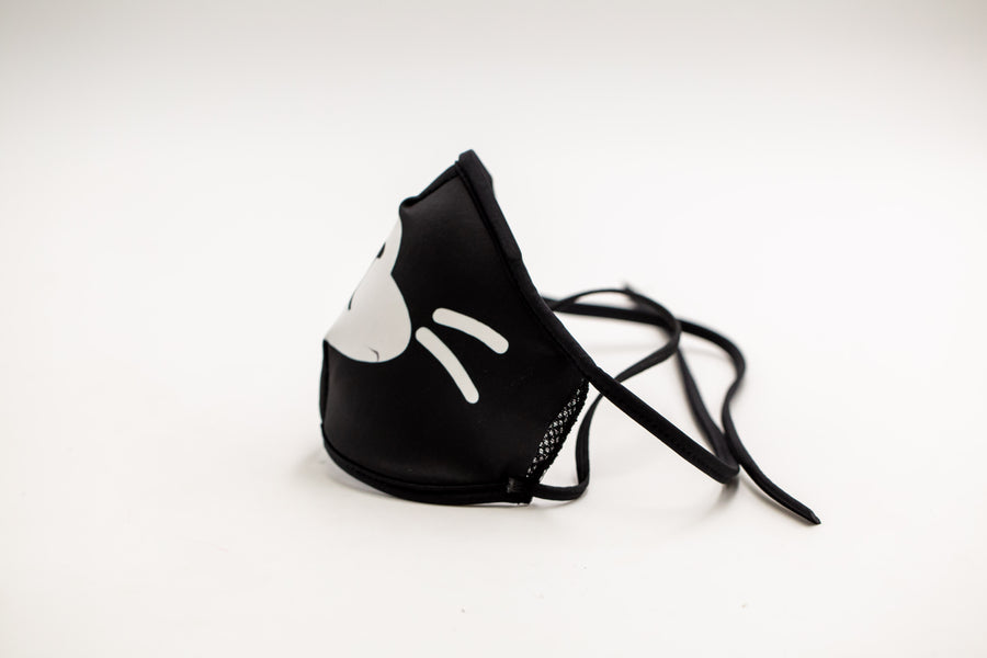 Panda- Arena Tour Mask (Includes 1 PM2.5 Carbon Filter) Reversible Face Mask
