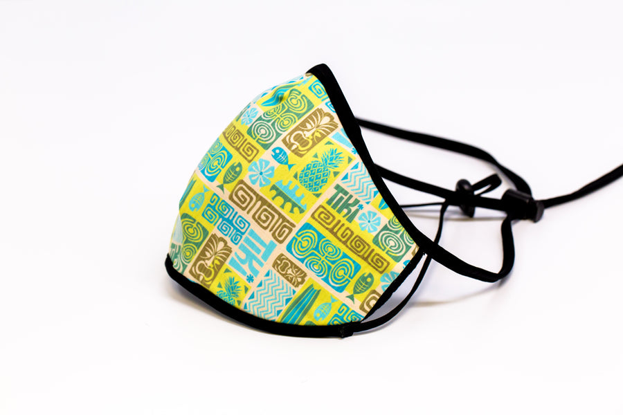 Mahalo- Arena Tour Mask (Includes 1 PM2.5 Carbon Filter) Reversible Face Mask