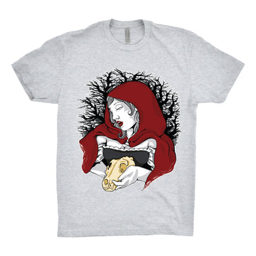 StarkGravingMad - Hey There, Little Red Riding Hood Unisex Tee Shirt