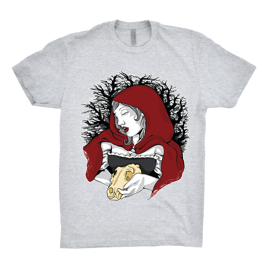 StarkGravingMad - Hey There, Little Red Riding Hood Unisex Tee Shirt - Band Merch and On-Demand Designer Shirts