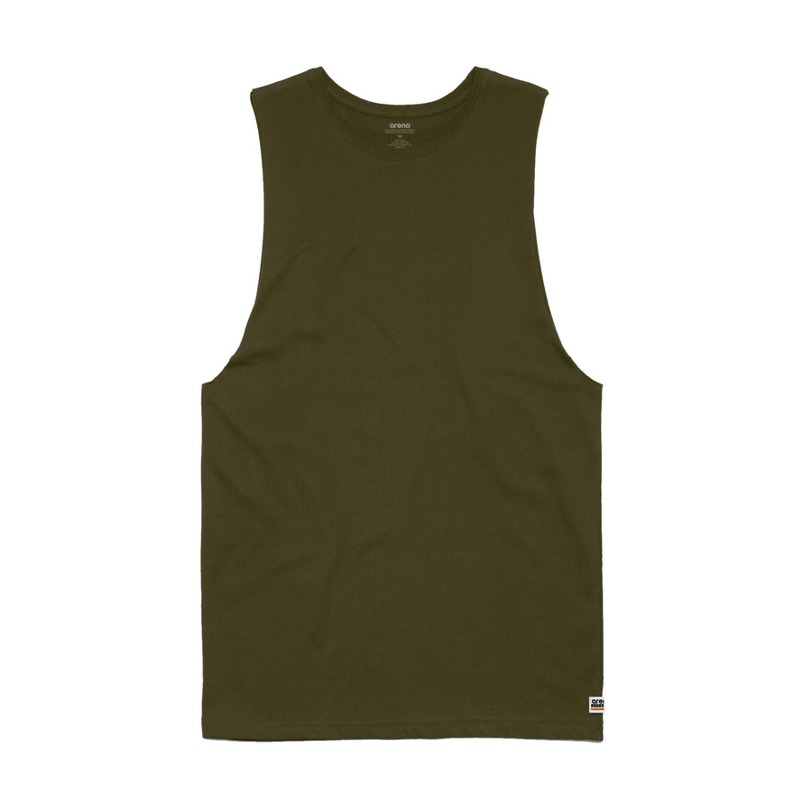 Men's Army Sleeveless Tee