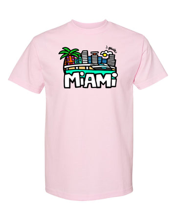 J. Pierce - Miami: Unisex Tee Shirt | Arena
