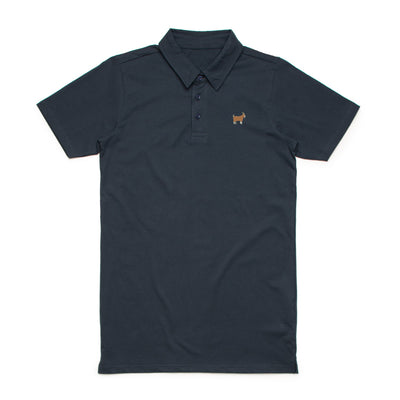 Navy GOAT Polo
