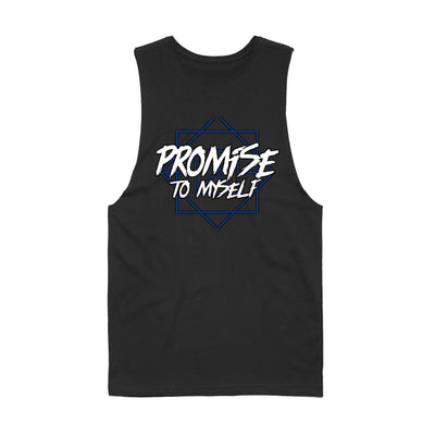 Promise To Myself - Triangle Men's Sleeveless Tee Shirt