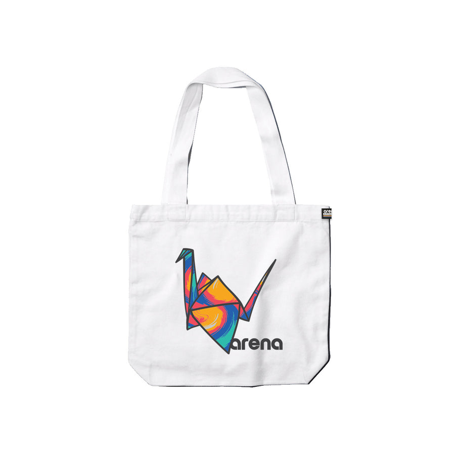 Paper Crane - Tote Bag - Band Merch and On-Demand Designer Shirts