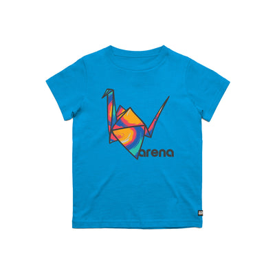 Paper Crane Youth Tee Blue