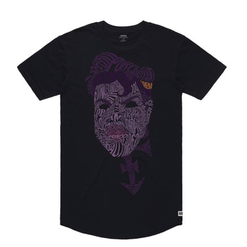 Prince - Men's Curved Hem Tee Shirt - Band Merch and On-Demand Designer Shirts