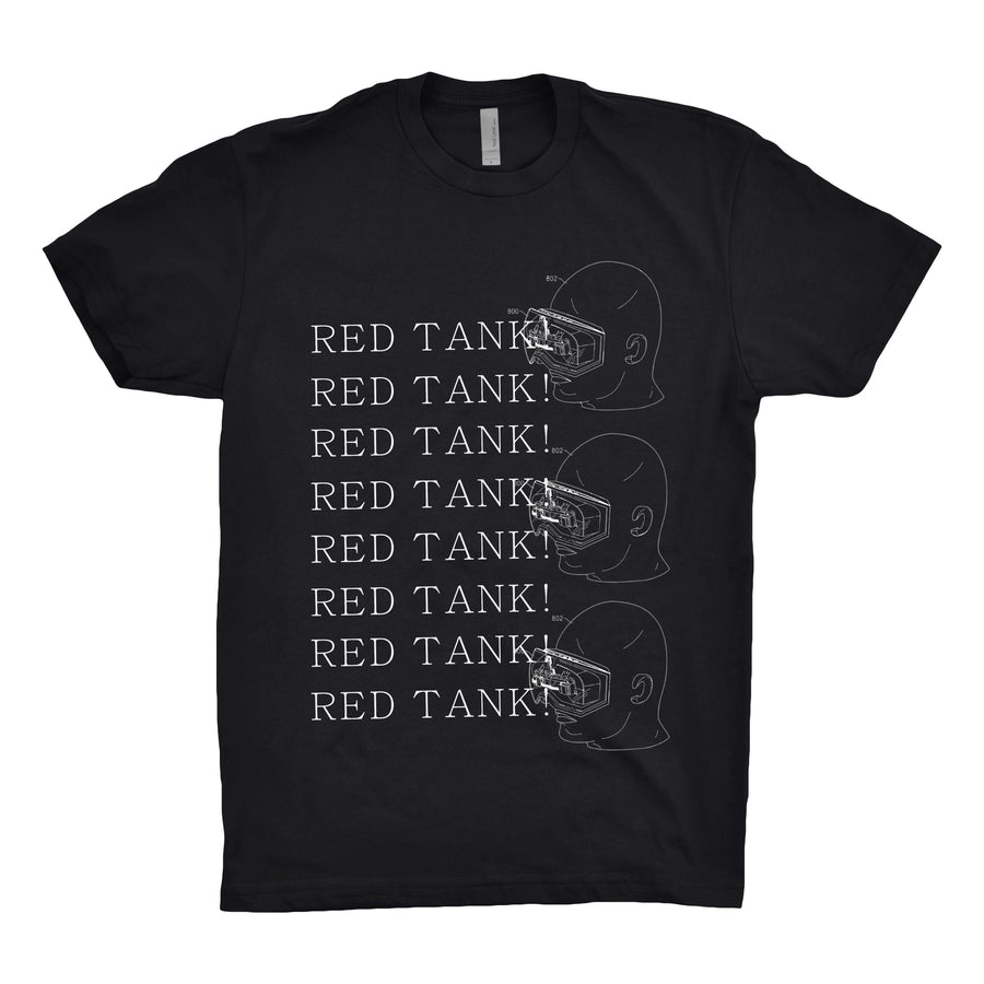 Red Tank! - VR Unisex Tee Shirt - Band Merch and On-Demand Designer Shirts