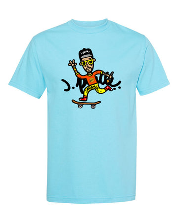 J. Pierce - Signature Cartoon: Unisex Tee Shirt | Arena - Band Merch and On-Demand Designer Shirts