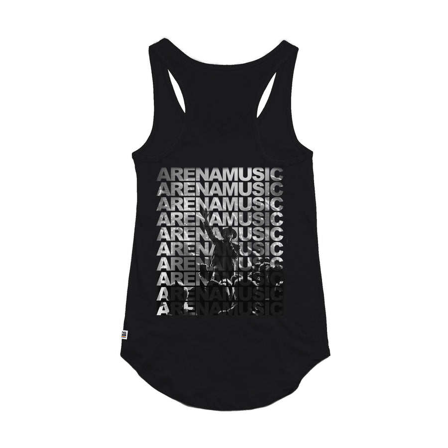 Singer Silhouette - Women's Tank Top - Band Merch and On-Demand Designer Shirts